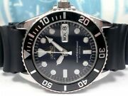 Seiko Skx023 Day Date Diver 7s26-0050 Automatic Mens Watch Authentic Xz215