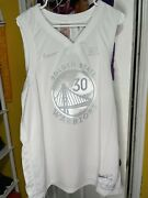 Stephen Curry Golden State Warriors Nike Nba Mvp Jersey Size 2xl Nwt Ct4203-100