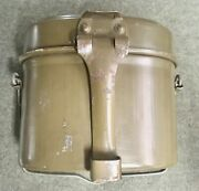 Wwii Ww2 German M31 Mess Tin - Fwbn 44 - Excellent Condition - With Strap