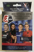 2021 Official Nwsl Trading Cards Premier Edition Hanger Box - New