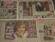Princess Diana New Evidence Newspaper Clippings Cuttings June 21 Lot 2