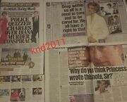 Princess Diana New Evidence Newspaper Clippings Cuttings June 21 Lot 3