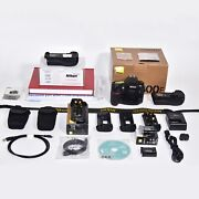 Nikon D800e Exc. Usa Shutter Count- 26887 Two Nikon Battery Grips Much More.