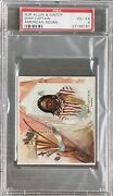 1888 N36 Allen And Ginter American Indian Chiefs War Captain Psa 4 Vg-ex Nice