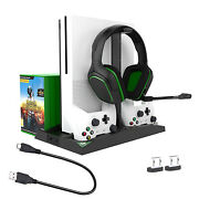 Handle Charger Bracket Dock Charging Game Discs Rack For Xbox One S/x Console