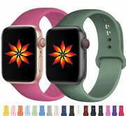 Silicone Band Strap For Apple Watch Series 2/3/4/5/6 Sports Iwatch 38/40/42/44mm