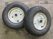 Ford Lgt-120 145 165 125 Open Side Tractor Carlisle 16x6.50-8 Front Tires And Rims