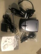 Used Plantronics S12 Corded Office Hands-free Telephone Headset System