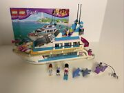 Lego Friends Dolphin Cruiser, 41015 With Manuals 100 Complete