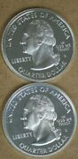 State Quarter Cameo Proofs Two 90 Silver Coins Arizona Kentucky M-3128