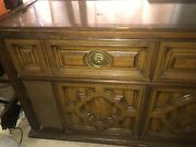 1960and039s Vintage Magnavox Astro-sonic Stereo Am/fm Record Player Console