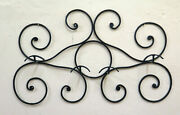 Coat Hangers Vintage Wrought Iron Hooks Wall Hanger Old Ch