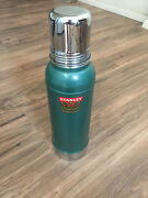 Vintage Stanley Supervac Thermos 30's Era With Leather Case