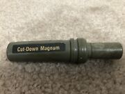 Duck Commander Cut-down Magnum Vintage Duck Call Pat. 4151678 Olive Green