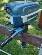 1957 Goodyear Sea Bee Outboard 12hp Low Usage