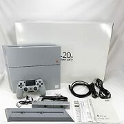 Sony Playstation 4 20th Anniversary Limited Edition Ps4 Home Game Console Used