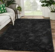 High Quality Furry Area Rug Mat For Living Room Fluffy Soft Carpet Indoor 3x5 Ft