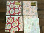 Vintage Betsey Clark Hallmark Wrapping Paper Lot Nip Assorted Wow