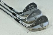 Cleveland 588 Tour Action Chrome 53, Sand, 60 Wedge Set Right Steel 122320