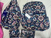 Vera Bradley Harry Potter Hogwarts Campus Backpack Sling Cell Crossbody And Walle