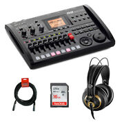 Zoom R8 Multitrack Recorder W/ Akg K240 Headphone 16gb Memory Card And Cable