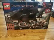 4184 Lego Pirates Of The Caribbean Black Pearl 2011 Unopened New In Box