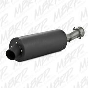 Mbrp Slip-on System W/sport Muffler Exhaust For Arctic Cat 500 / 550 2009-2015
