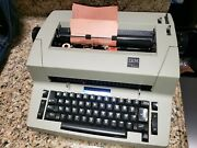 Ibm Selectric Personal Typewriter Rare Cleaned Lubed Dust Cover, Bag Phoenix Az