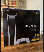 New And Sealed Sony Playstation 5 Ps5 Digitaledition Console In Hand Ships Fast