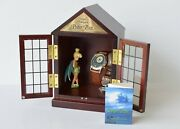 Disney Peter Pan Watch Tinkerbell House Case Limited 634/2500 Rare New