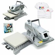 15x15 T-shirt Heat Press Transfer Machine Diy Sublimation Swing Away Pull Out