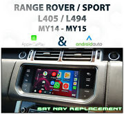 [2014-15] Range Rover L494 / L405 - Apple Carplay And Android Auto Integration