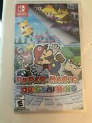 Paper Mario The Origami King Nintendo Switch Nintendo Switch Brand New Sealed