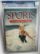 Sports Illustrated 3 First Swimsuit 8/30/1954 Newstand Cgc 9.0 - Only 1 Higher