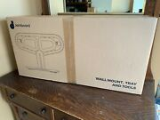 Google Jamboard Benq Wall Mount Tray With Hardware - White - New