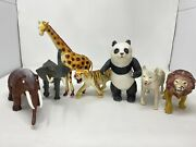 Vintage 80's Imperial Circus Zoo Mammoth Plastic Toy Lot 1987