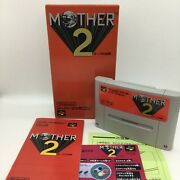 Mother 2 With Box And Manual [super Famicom Japanese Version]