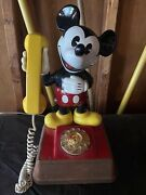Vintage 1976 Mickey Mouse Rotary Phone