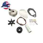 Water Pump Impeller Housing Kit For Mercury Mariner Outboard 46-812966a12