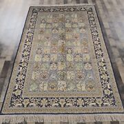Yilong 5and039x8and039 Handknotted Silk Area Rug Home Interior Luxury Indoor Carpets 639b