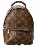 Louis Vuitton Monogram Canvas Palm Springs Mini Backpack Pm Womenand039s