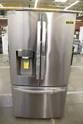 Lg Lrfds3016s 36 Stainless Steel French Door Refrigerator Nob 112204
