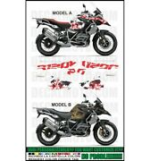 Stickers Kit Stickers Compatible R1250 Gs Adventure World Easy