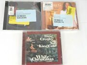 Christmas Cd Bundle - Kenny G + Bing Crosby And Nat King Cole + Andy W Sealed