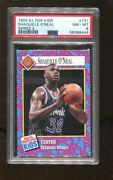 Shaquille O'neal 1993 Sports Illustrated For Kids Card 131 Series 2 Magic Psa 8