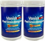 Bosh Chemical Vanish Pool And Spa Stain Remover 2 Pack 4lbs- Natural Safe Citrus