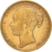 [867178] Coin, Great Britain, Victoria, Sovereign, 1872, London, Ef, Gold