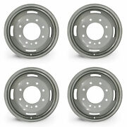 Set Of 4 17🔥dually Steel Wheels For 05-16 Ford F350 Super Duty Oem Qlty 10093