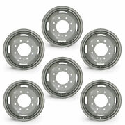 Set Of 6 17🔥dually Steel Wheels For 05-16 Ford F350 Super Duty Oem Qlty 10093