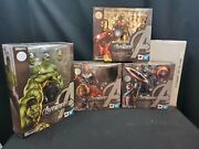 New Sealed Avengers Assemble Trio And Iron Man Mk 6 - S.h.figuarts - Us Seller